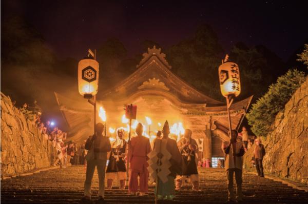 9月28日(土)開催!秋に行われる特別な炎の河「秋のたいまつ行列」が開催されます!